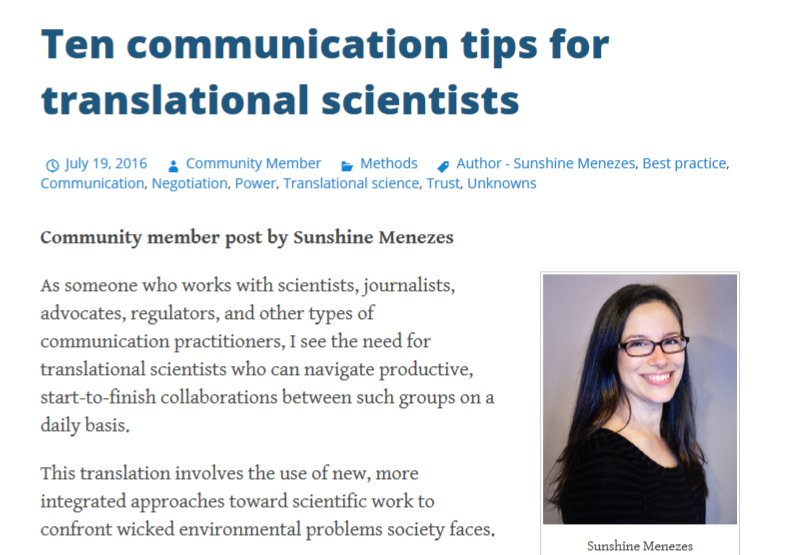 REVISITING: Communication tips for research impact: embrace change &amp; value &amp; practice brevity  https:// i2insights.org/2016/07/19/ten -communication-tips/ &nbsp; …  @DeborahGhate1 @researchimpact <br>http://pic.twitter.com/D0E1qyTK4e