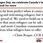 Image for the Tweet beginning: On World Refugee Day, we