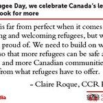 Image for the Tweet beginning: On World Refugee Day, we