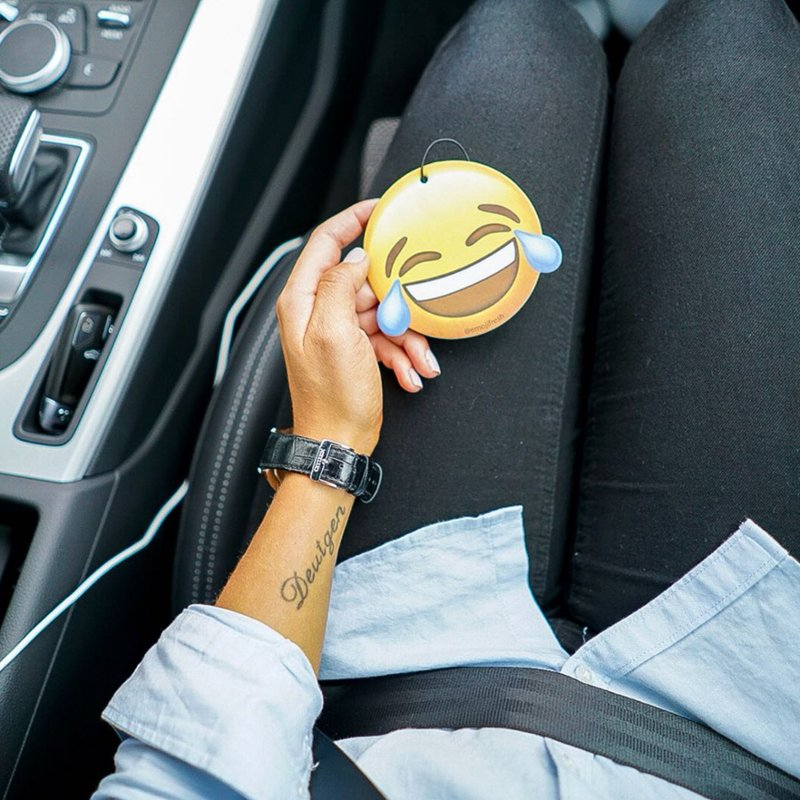 You will be absolutely laughing when you get this up in your car, with its New Car Scent keeping your car smelling like its just come off the forecourt! emojifresh.co.uk/collections/ai…