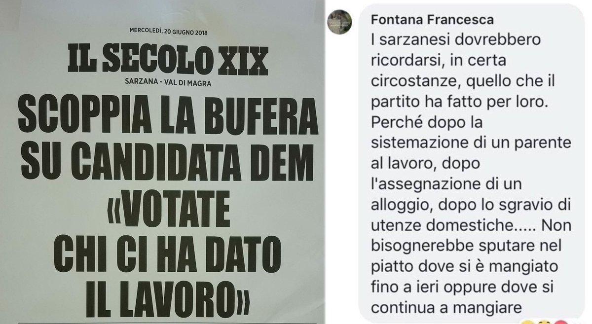 Ogni tanto anche qualcuno del #PD dice la verità! Questa è la gestione della sinistra. E se lo dicono loro...  #cambiamoinsieme #Sarzana, la #Liguria e l' #Italia  - Ukustom