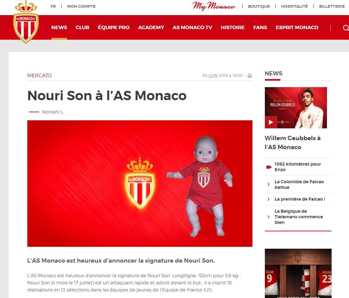 Un grand espoir du football français de plus à Monaco ! #Mercato