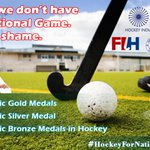 #HockeyForNationalGame Twitter Photo