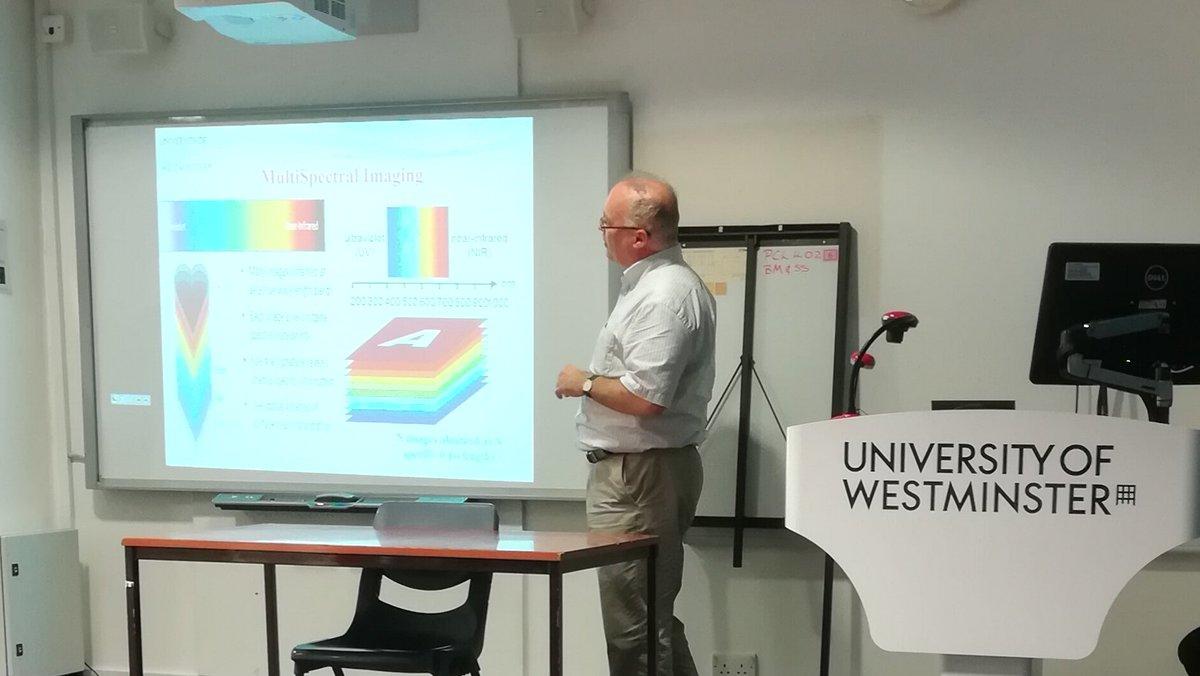 Vassilis S. Kontogiannis talking about meat spoilage @UniWestminster #researchernetwork #researchvisibility <br>http://pic.twitter.com/Qto1b9pkQu