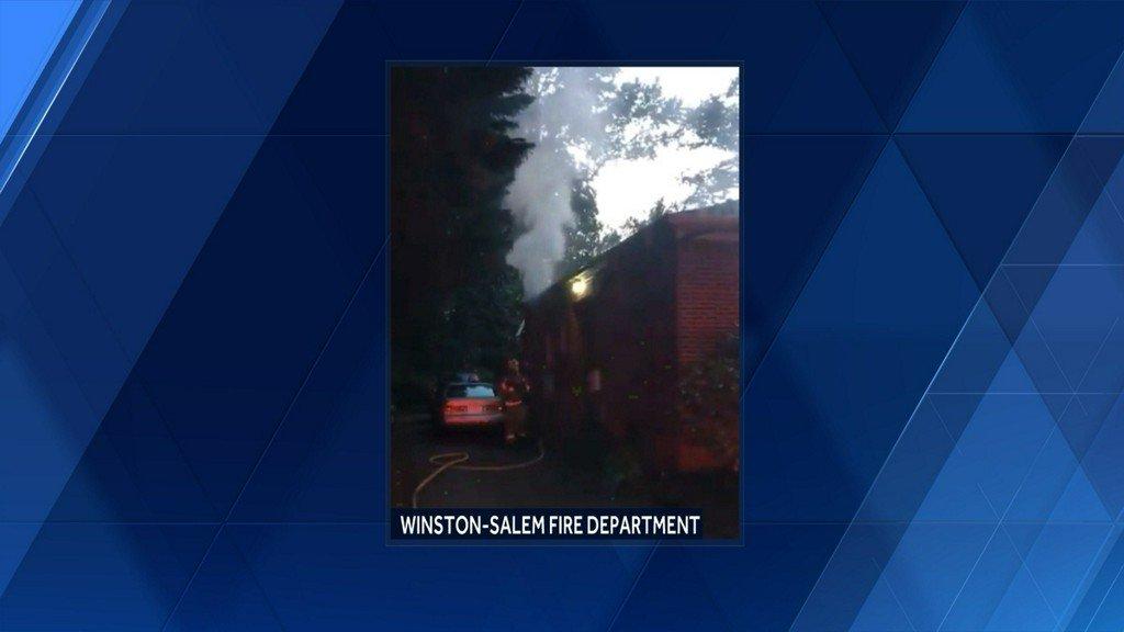 Crews battle home fire in Winston-Salem https://t.co/FVmKPnMnnu