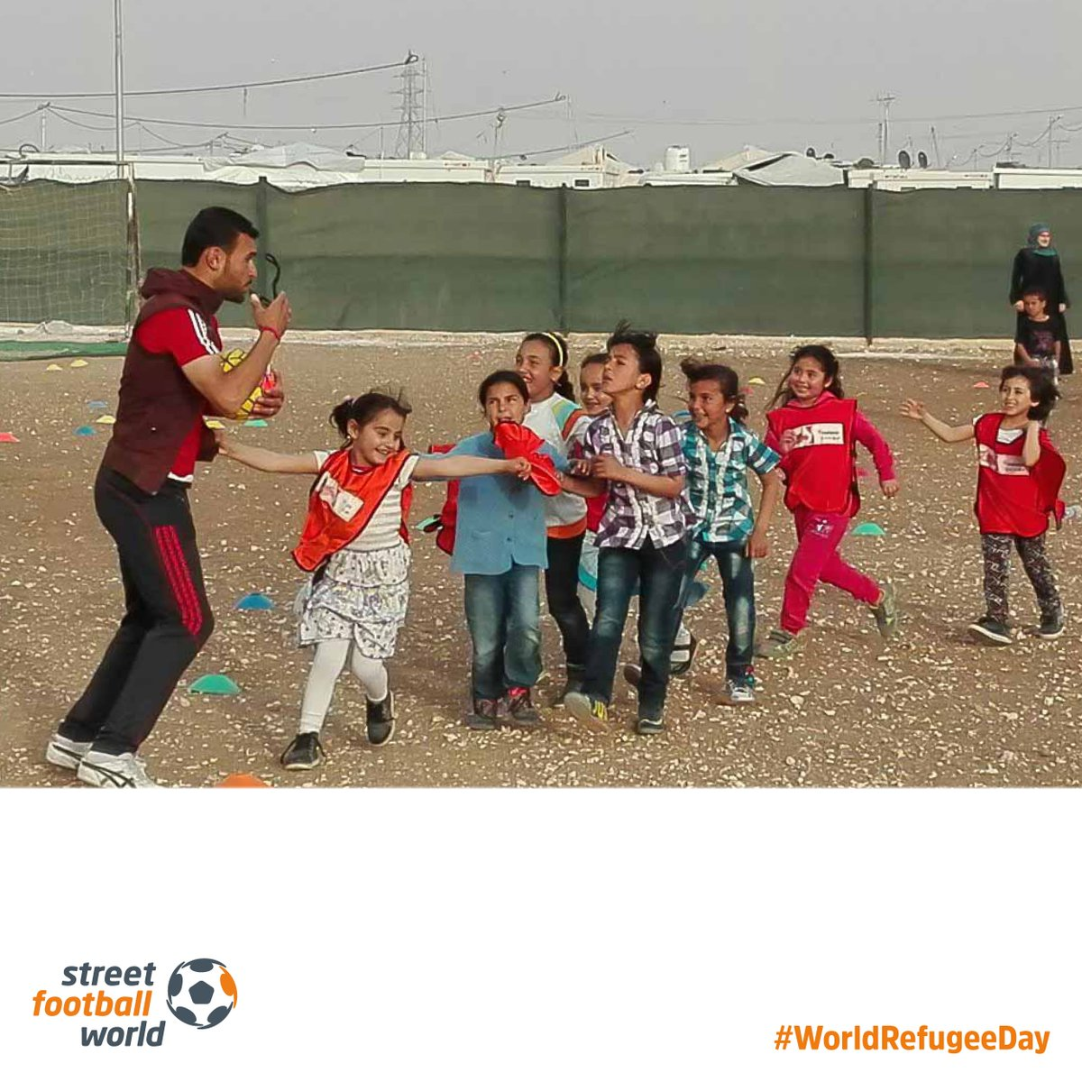 test Twitter Media - This #WorldRefugeeDay we would like to highlight a programme initiated together with @TheAFDP and #CrossCultures project, funded by @BMZ_Bund and @UefaFoundation helping to support refugees and foster social cohesion in Jordan. Read here: https://t.co/p0TyZONQqw #football4good https://t.co/TW5a6tVEpa