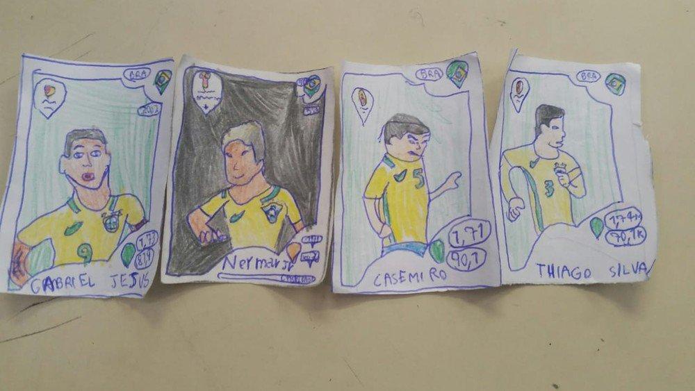#Copa2018: Menino usa a criatividade e faz à mão álbum de figurinhas https://t.co/WcpesU0t8W #G1