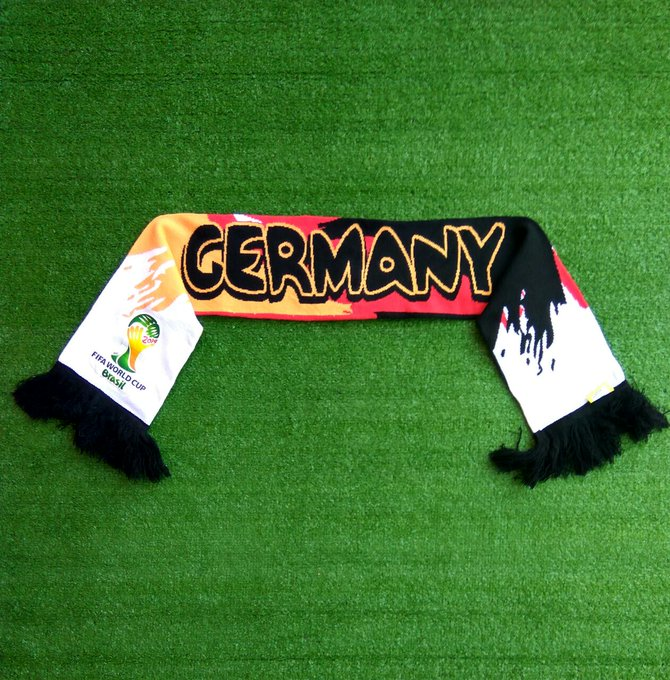 Detail #LawasReguler - Rabu, 20 Juni 2018 #Lawas2 Germany World Cup 2014 Official Scarf (112x15) Photo
