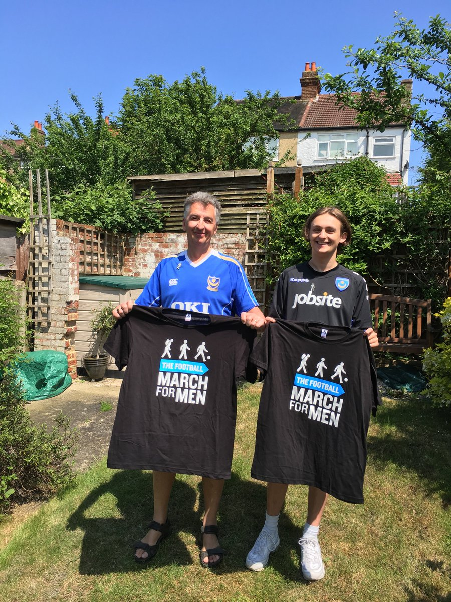 I have advanced prostate cancer - its incurable We are supporting @ProstateUK by doing the Football March for Men. We are @officialpompey fans. Read our story @portsmouthnews Give generously and kindly RT justgiving.com/fundraising/St… …