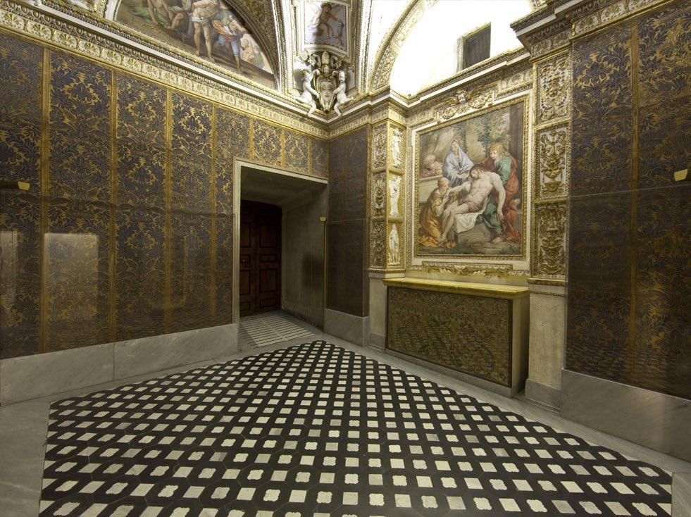 Cappella di Urbano VIII Barberini, Torre Borgia, Vatican, just restored via @claviggi #art #travel #Vatican #Italy beautyfromitaly.it