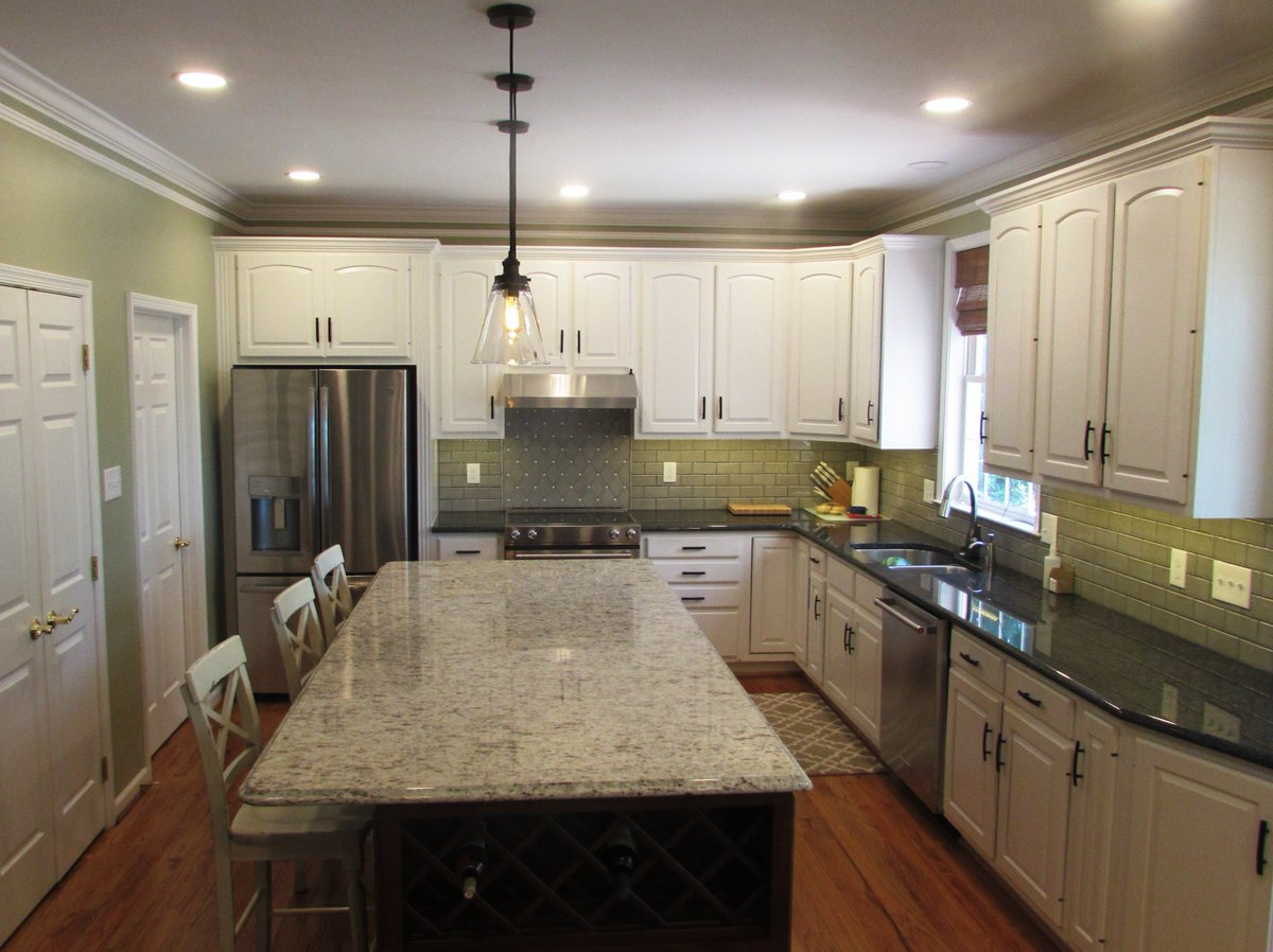 Gorgeous Kitchen Renovation In Potomac Maryland: Kitchen Remodel Frederick Md