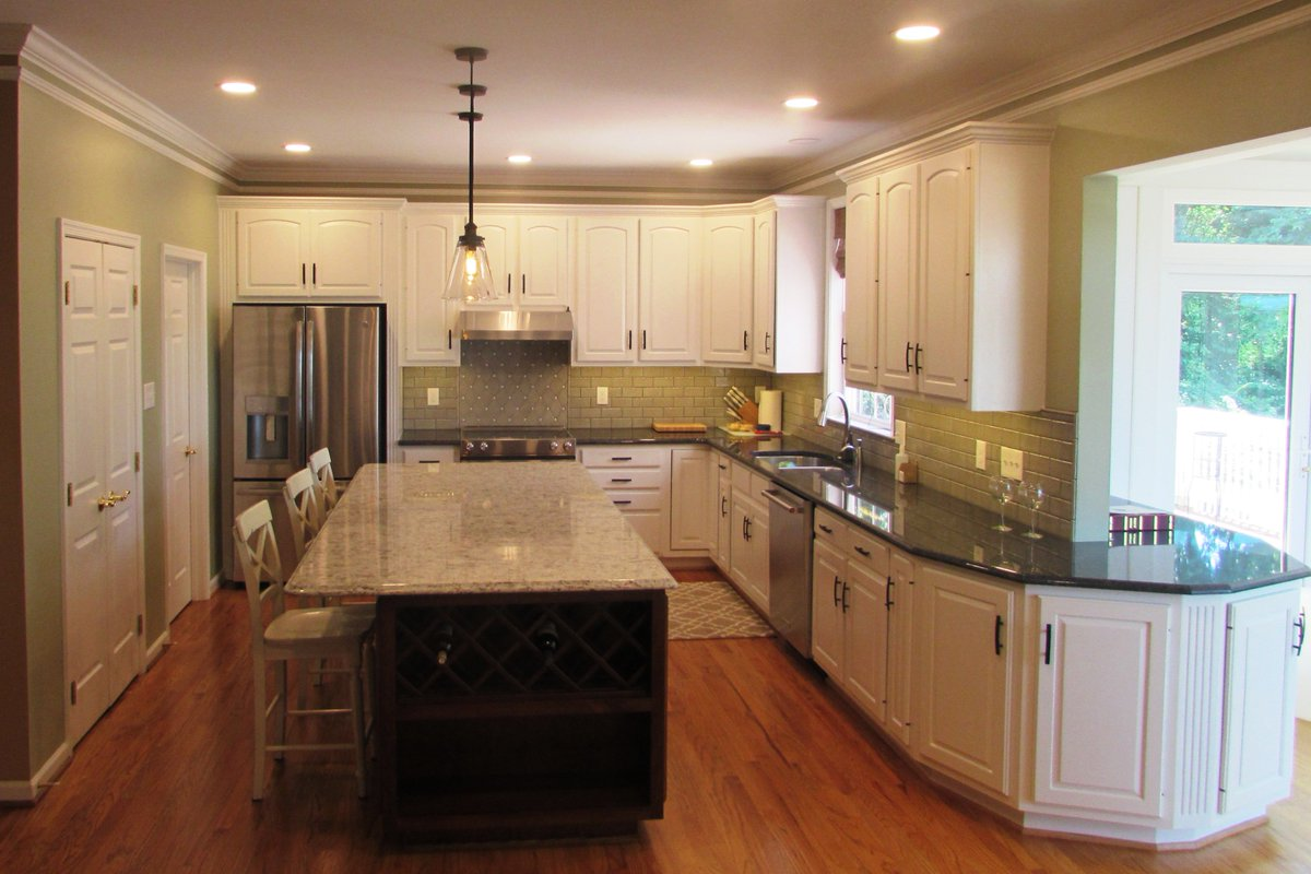 Talon Construction On Twitter Recently Completed Kitchen Remodel