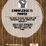 Image for the Tweet beginning: Knowledge is Power at today's