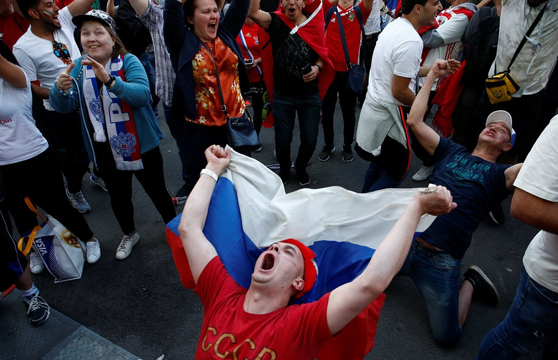#Gallery The games continue with Russia's #WorldCup and fans from around the world aren't holding back. Here's a look from around Russia   https://t.co/IjQYc4qZzA