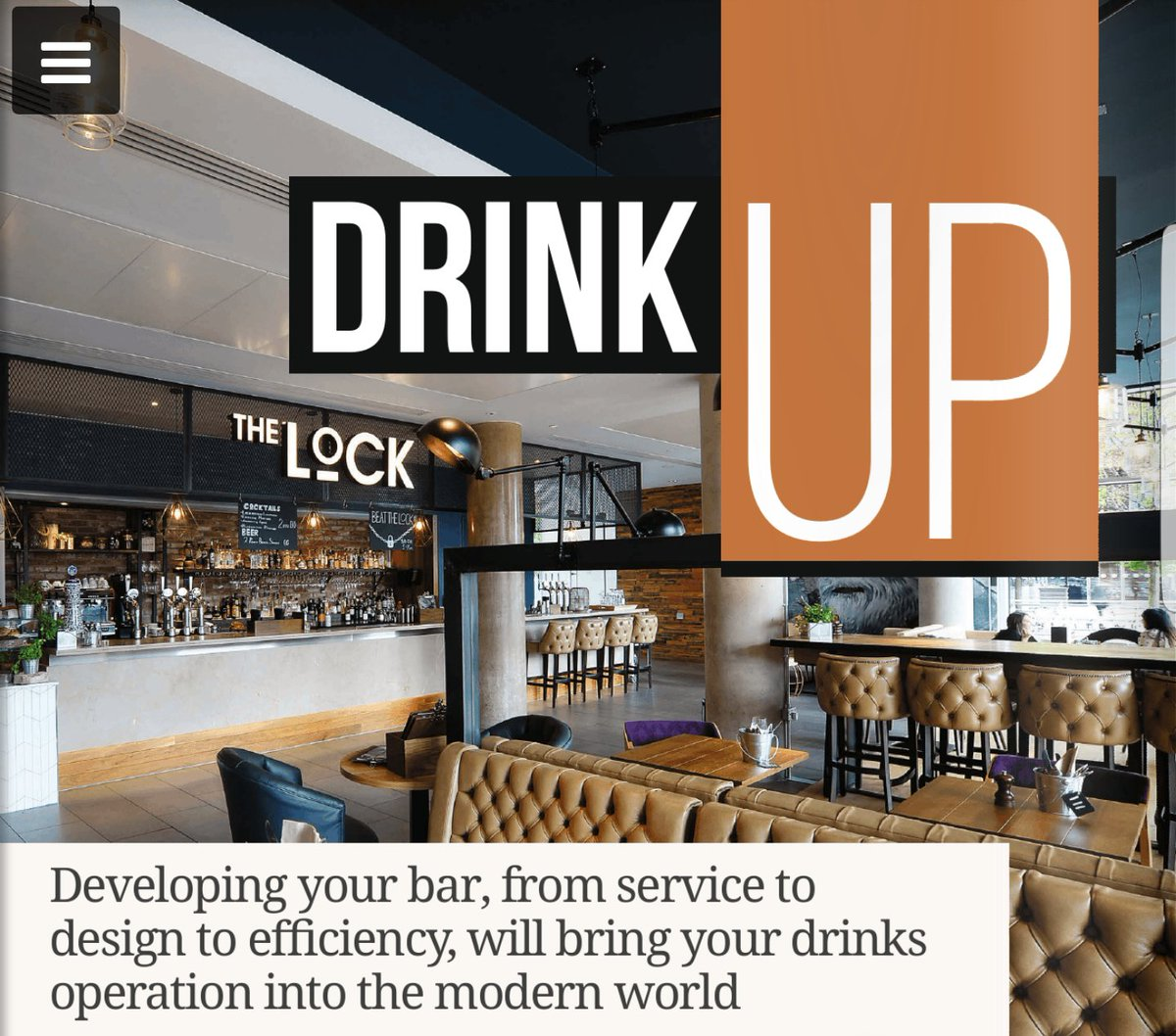 Great Insights On Bardesign From ABDAs SryanKE In The Latest Ed Of
