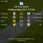 Image for the Tweet beginning: 🔥 Today's featured Veikkausliiga Full