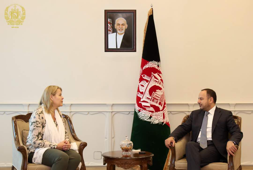 I had a farewell meeting with the #Amb of Norway. I thanked and appreciated H.E.'s efforts and support to the people of #Afghanistan. And wished her success in her future endeavors.
