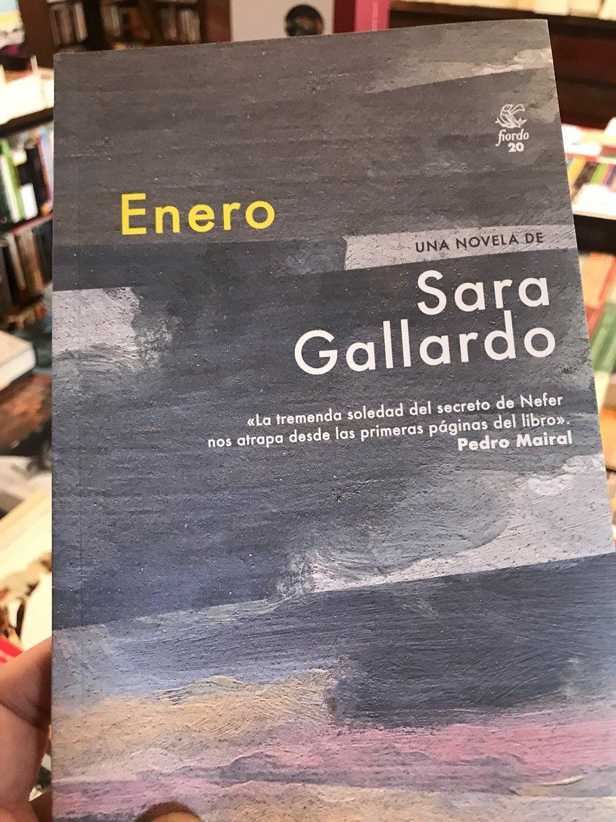 Resultado de imagen para Enero (Fiordo), primera novela de Sara Gallardo,