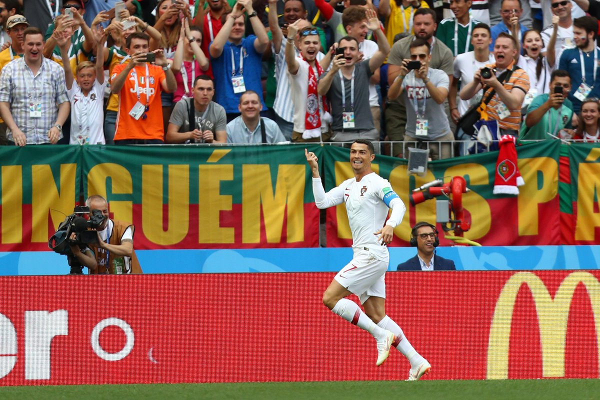 85 - Cristiano Ronaldo has now scored more international goals than any other European player in the history of football (85 goals for Portugal). Historic.   #POR #MAR #PORMARM#RonaldoA#WorldCupR