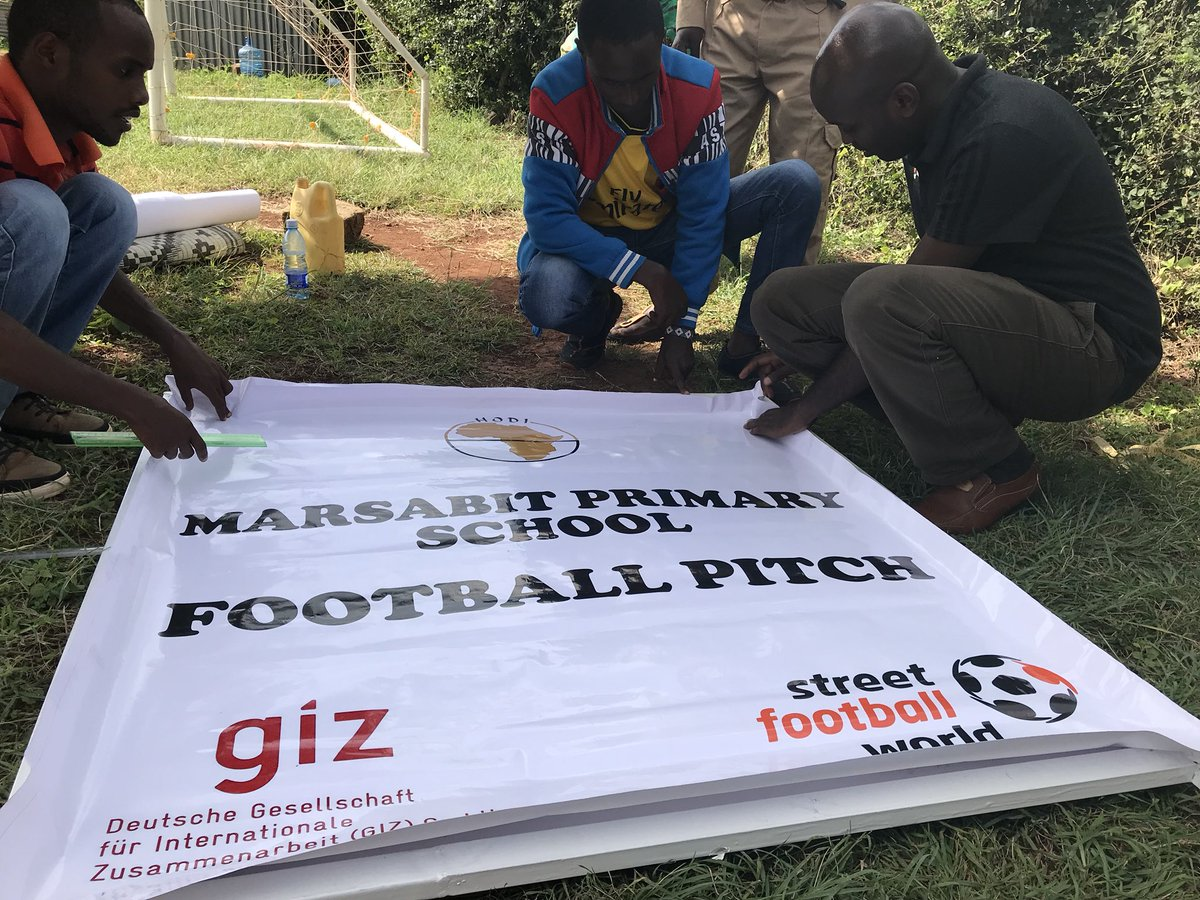 test Twitter Media - All set for the official opening of the two football pitches to tomorrow in Marsabit County and also unveil the @Hodiafrica team headed to @FIFAWorldCup w/@fatumabdulkadir for @FIFAcom Football Festival 2018 Russia #Shoot2scorenot2kill #WorldCup cc @GovMohamudAli @FirstLadyMbt https://t.co/tO25lxa7ck