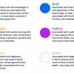 Image for the Tweet beginning: Quels sont les #couleurs et