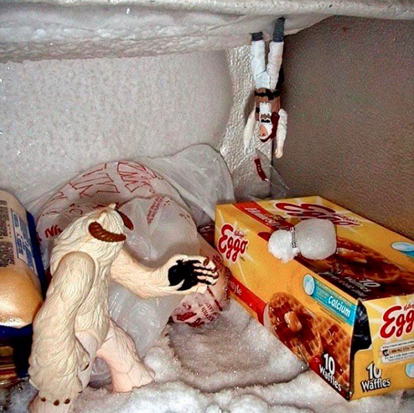 Best reason to own a freezer. #StarWars