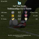 Image for the Tweet beginning: ⌚️ Today's featured Veikkausliiga Full