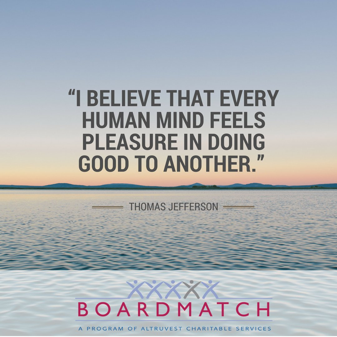 #altruvest #BoardMatch #leadership #improvement #charityCanada #charity #volunteer #leaders #communities #charities #leadershipskills #WednesdayWisdom   Follow us:  Instagram: https://t.co/BKRyqJZNXR   Facebook: https://t.co/NZgDVOAIJJ …  LinkedIn: https://t.co/CnRW26JVIH …
