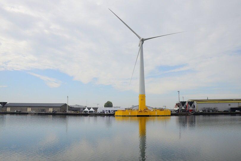 @EmmanuelMacron confirme le lancement des 6 parcs éoliens en mer, grâce à la renégociation des tarifs ✅ des tarifs qui passent de 200€ à environ 150€ ✅ la puissance de 2 réacteurs nucléaires vont être installés dans les prochaines années  ✅ des emplois pour nos territoires