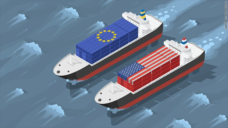 Europe will hit US products with tariffs starting Friday https://t.co/yKpnchihmy