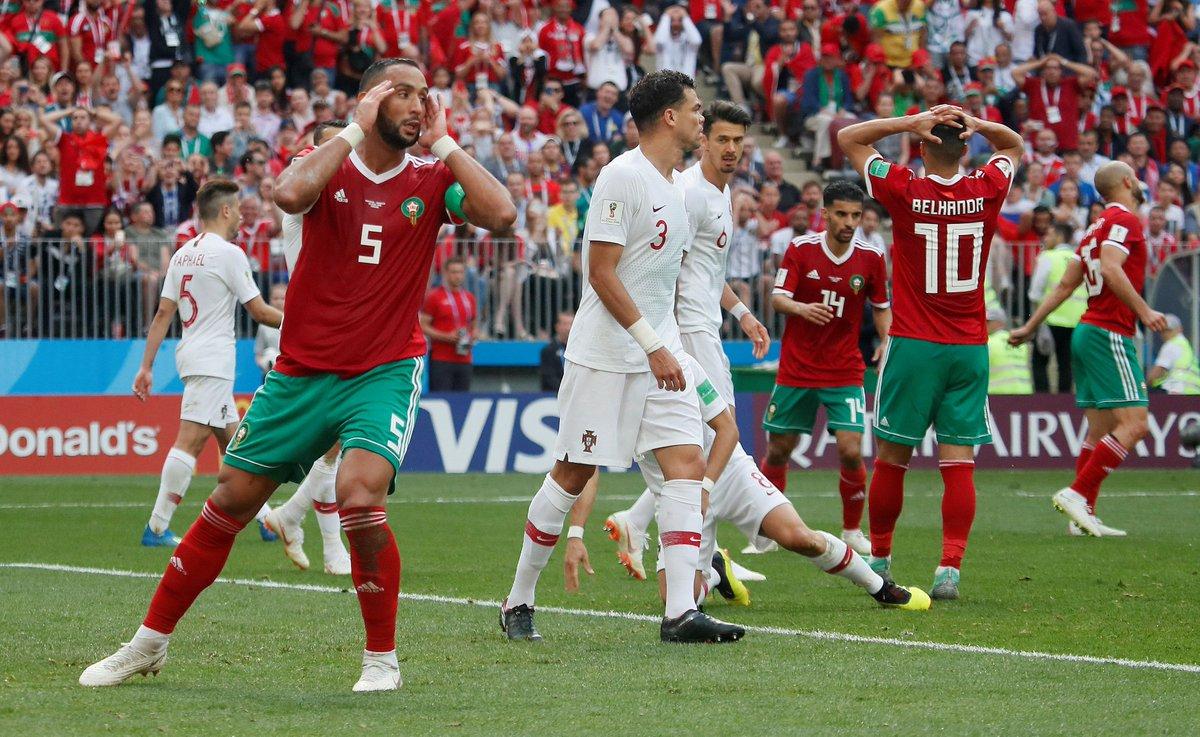 حارس البرتغال يمنع المغربي يونس بلهندة من هدف رائع
