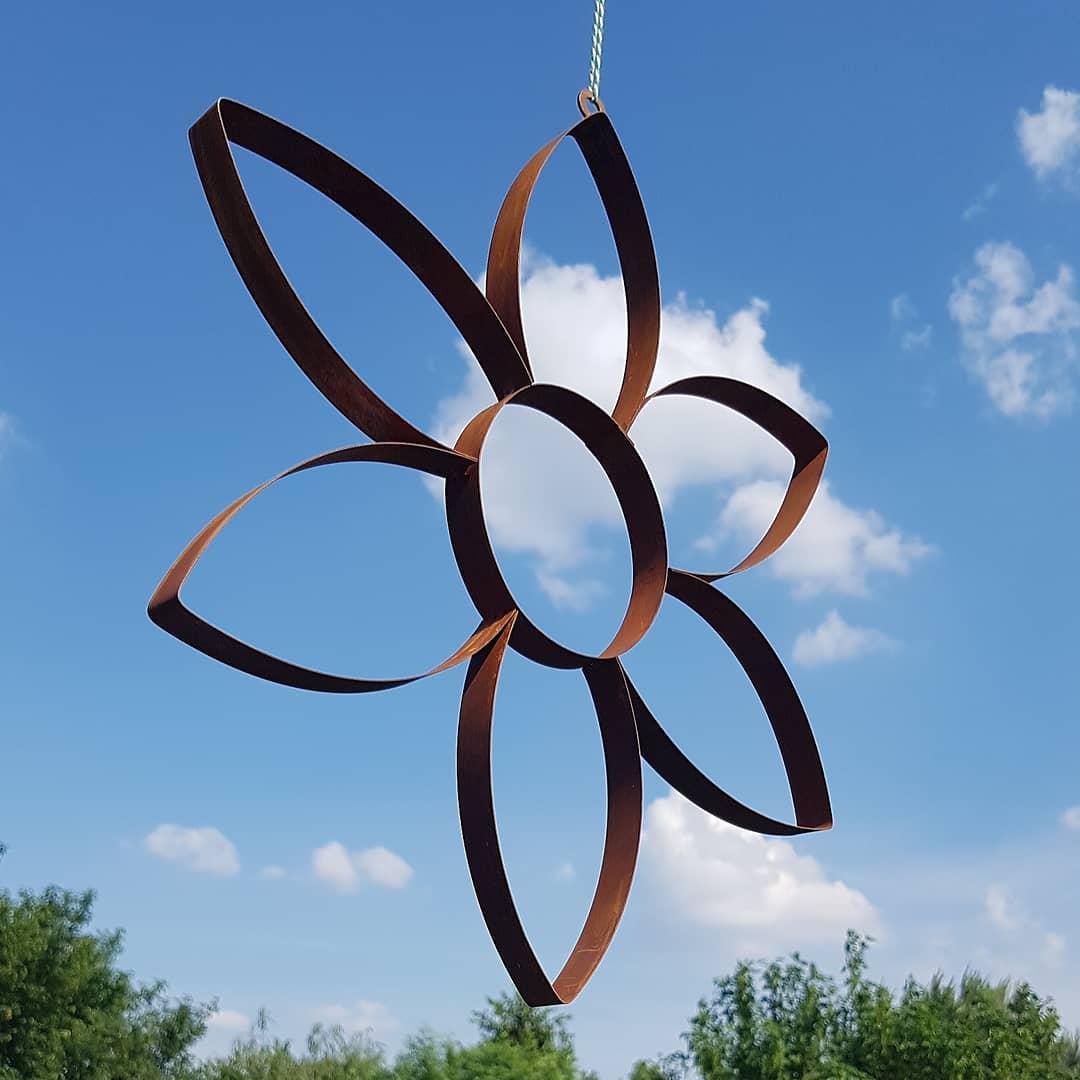 The Busily Bees On Twitter Rost Blumen Zum Hangen Rust Flowers For