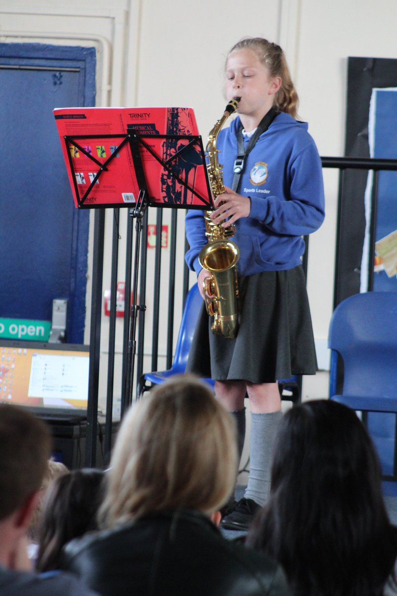 Summer Music Celebration Concert in full swing! Incredible performances from our extremely talented children. #music #music4kids