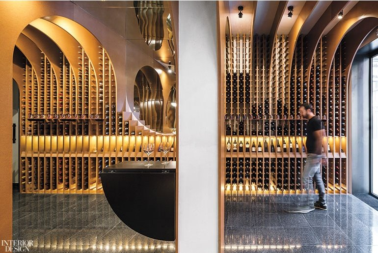 An epic wine shop design is exactly the inspiration we need on a wednesday afternoon. Read more over on @InteriorDesign #inspiration #wine #design #interiors https://t.co/tIR11UKQdW