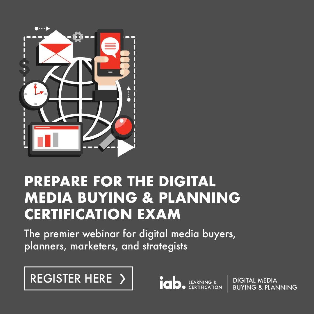Iab On Twitter Register For Iab S Digital Media Buying