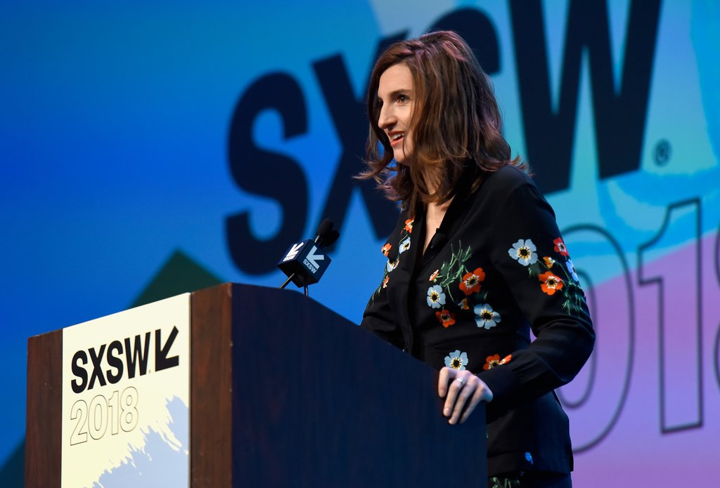 .@josephinegoube, CEO of @Techfugees, shared how a simple idea turned into a global movement among the #tech community to build solutions for and with displaced people at #SXSW 2018. Watch the full video here: ow.ly/kDtN30kAB4e #WorldRefugeeDay