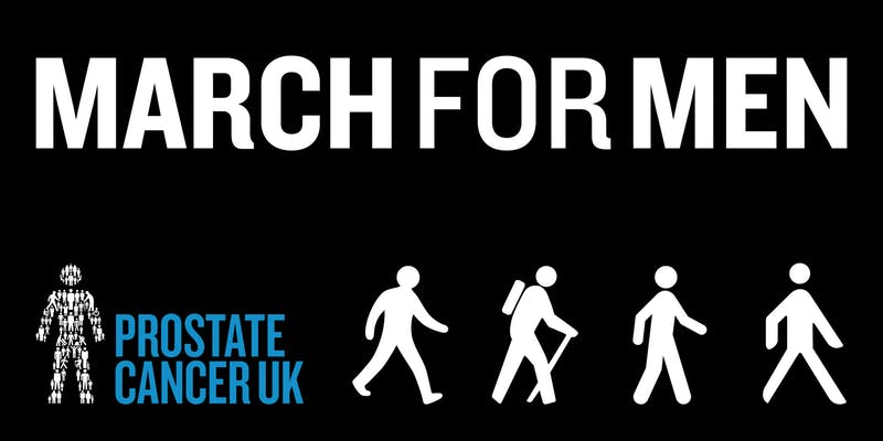 This Sat 23rd June is the March for Men, raising money for @ProstateUK and theyre looking for volunteers to help on the event- marshalling, selling merchandise, handing out medals- if youre interested please email: volunteer@prostatecanceruk.org