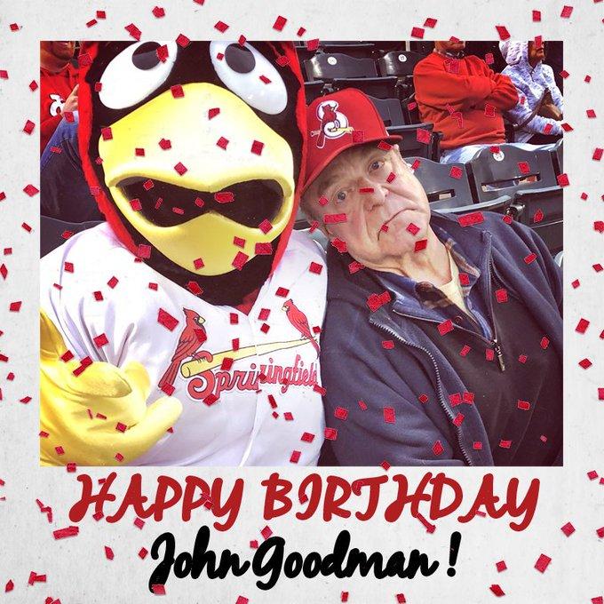 Happy Birthday to Top 8 fan John Goodman!