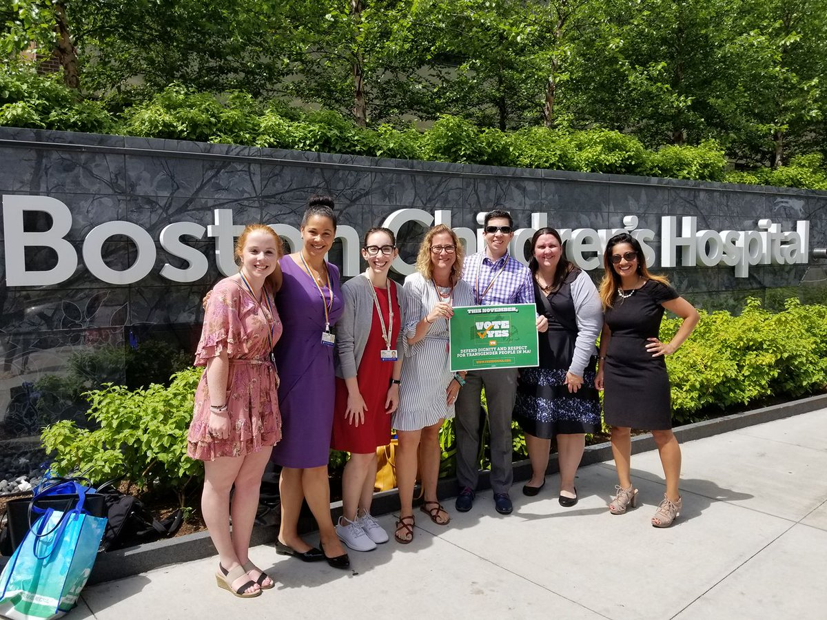 Our team had a great conversation with the @BostonChildrens Hospital today! They are committed to doing everything possible to ensure Massachusetts votes YES to uphold #TransLawMA this year. Join them—join our coalition: https://t.co/e3Y3rHqf4E #mapoli