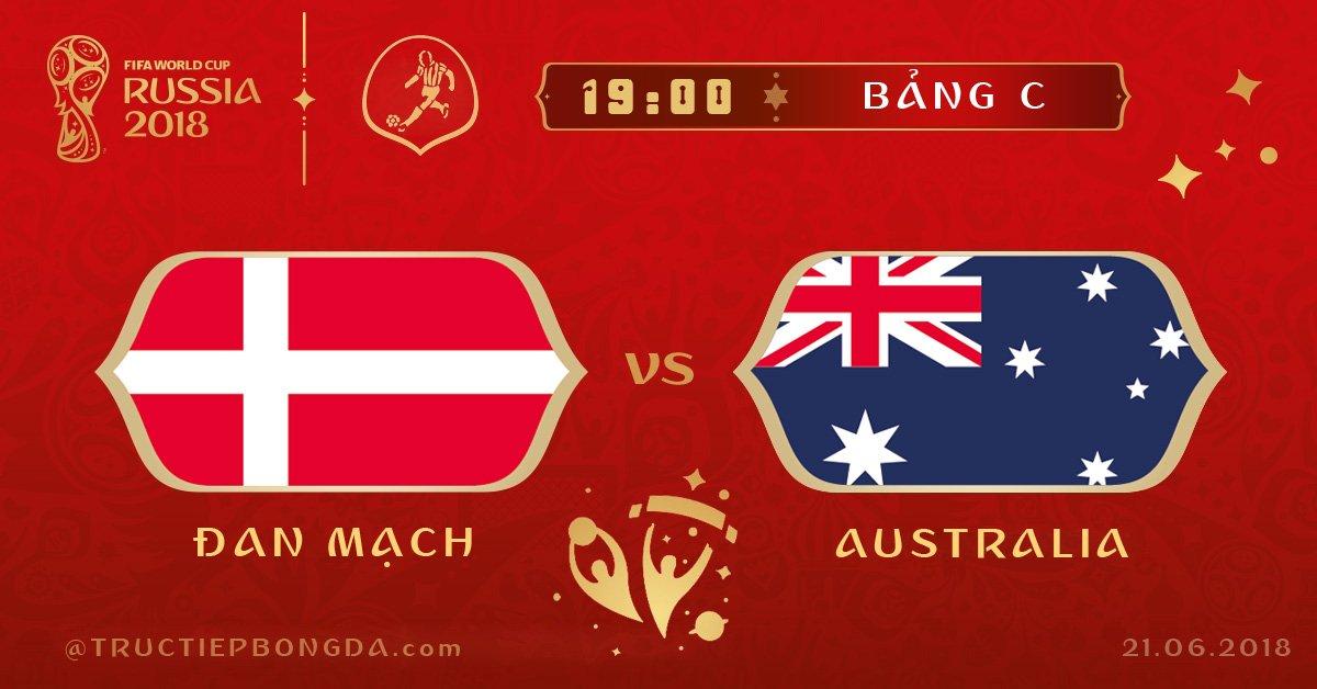 Đan Mạch vs Australia