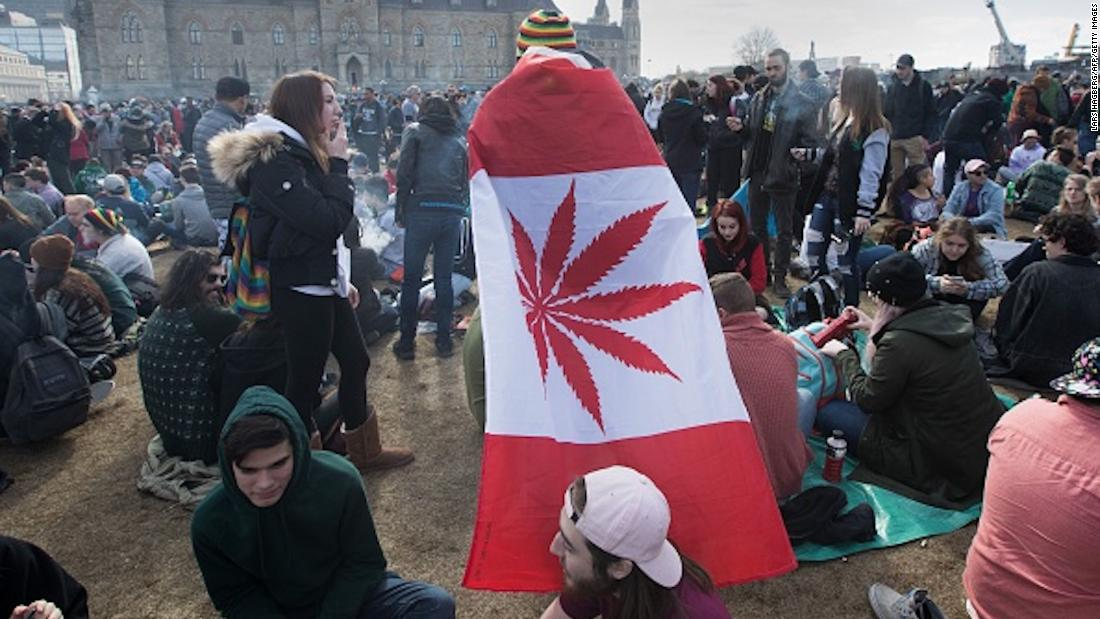Canada becomes second nation in the world to legalize marijuana https://t.co/cw5G41buNb
