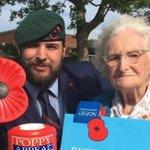 Britain's longest-serving poppy seller Rosemary Powell, aged 103, awarded an MBE  https://t.co/fnMbYDV4eK
