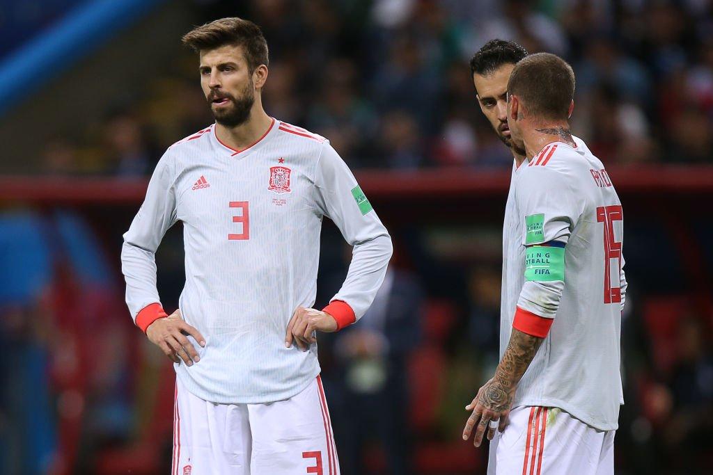España gano con la mínima 1.0 ante Irán