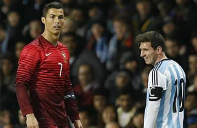 ¡Estos son los 10 motivos por los que @Cristiano es mejor que Messi! Photo