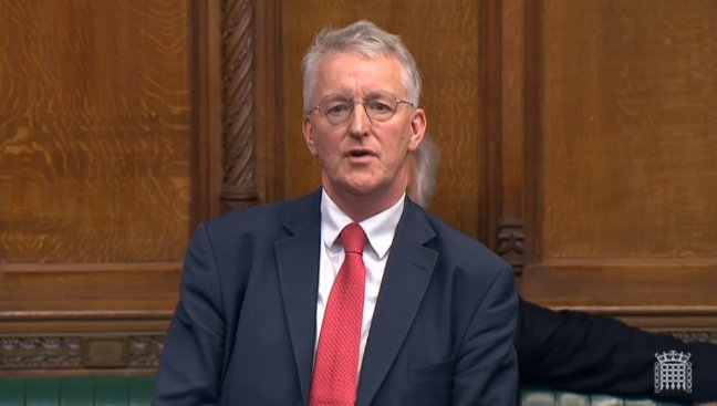 Hilary Benn mocks Grieve's climbdown: if future generations ask us, what did you do, we can say, 'I took note'