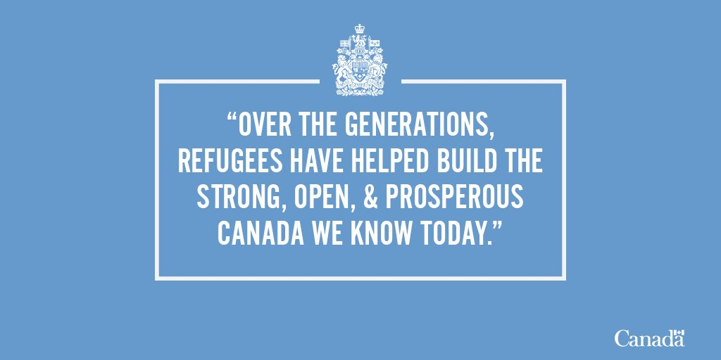 Justin Trudeau's photo on #WorldRefugeeDay