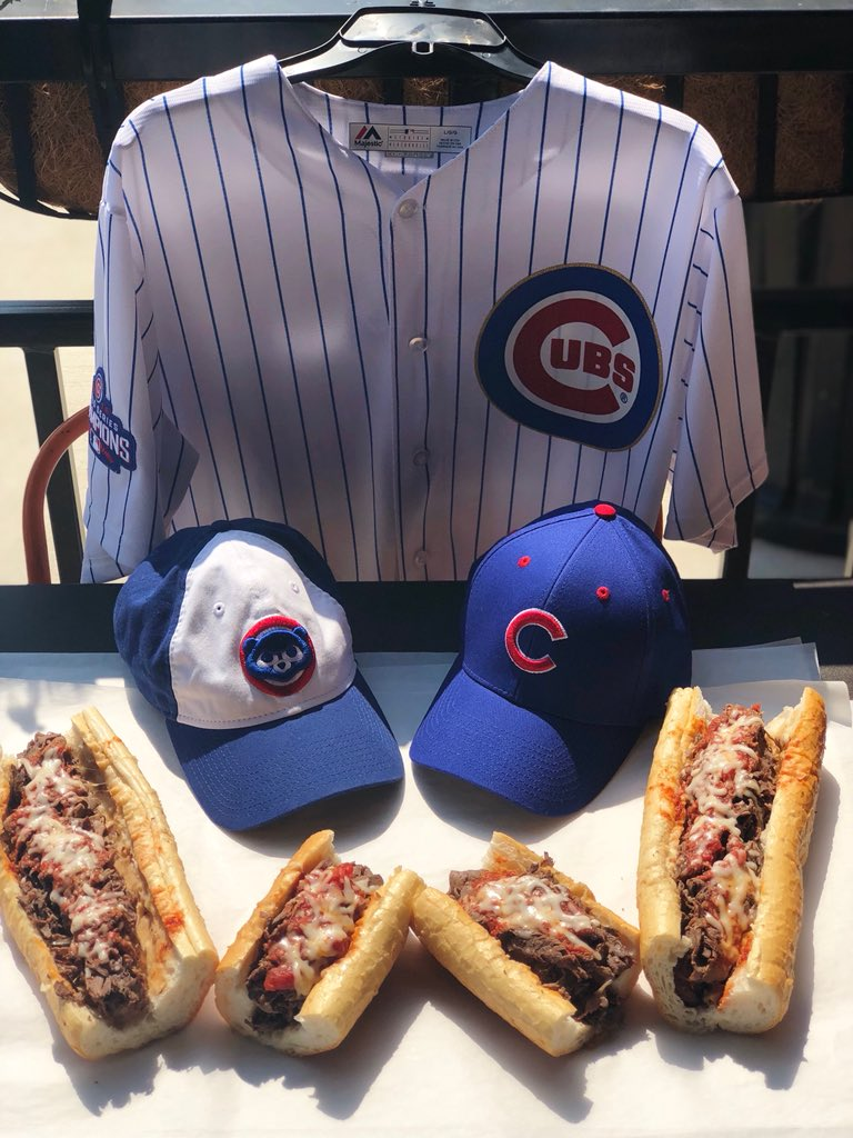 Go Cubs Go! If the Cubs score in the 6th today, don't forget to grab your free beef sandwich tomorrow! #BuonaBeef<br>http://pic.twitter.com/7X63u0c3Yb