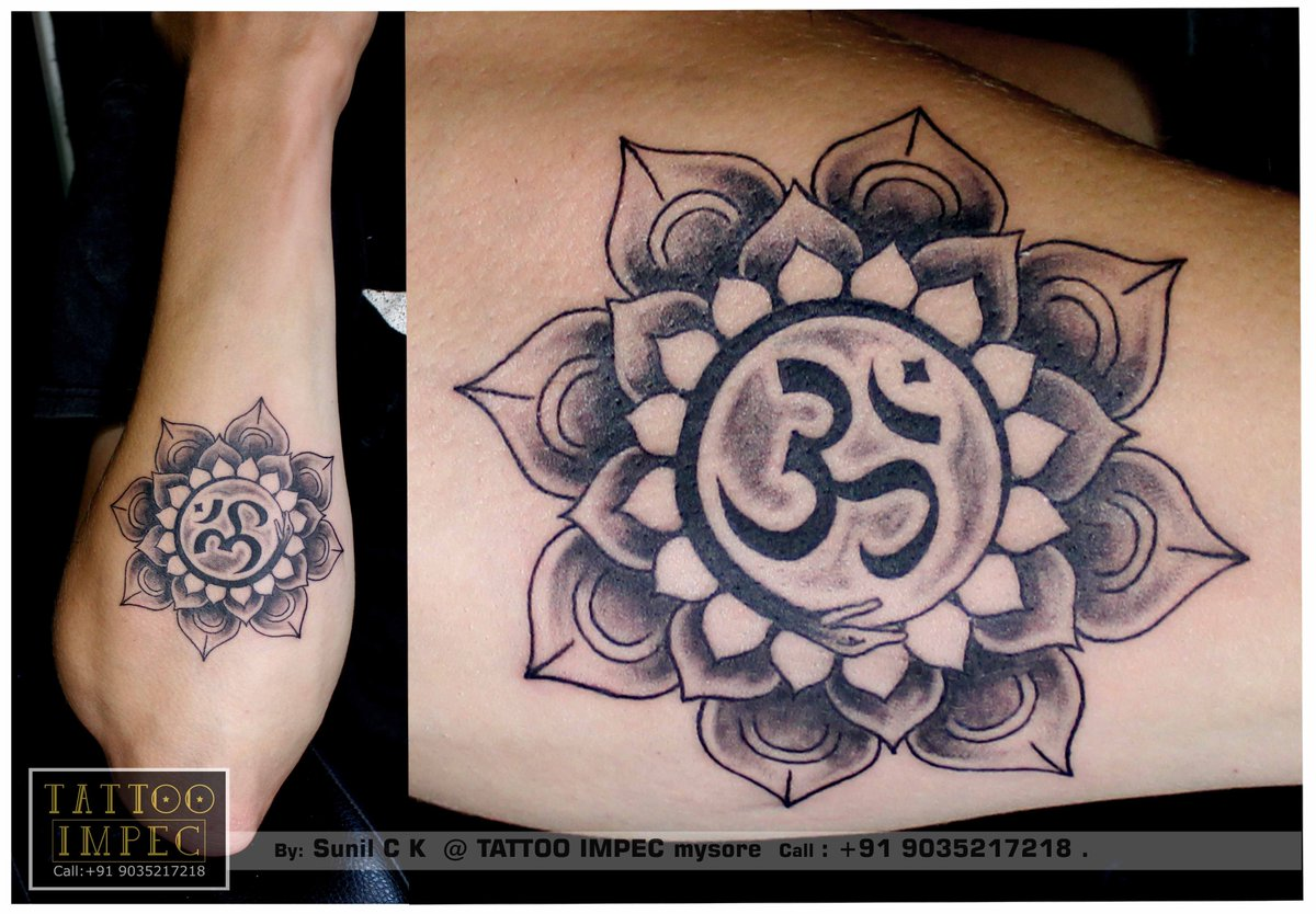 Tattoo Impec Mysore On Twitter Mandala Tattoo Mandala With Om