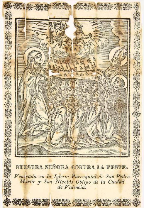 Virgen contra la Peste