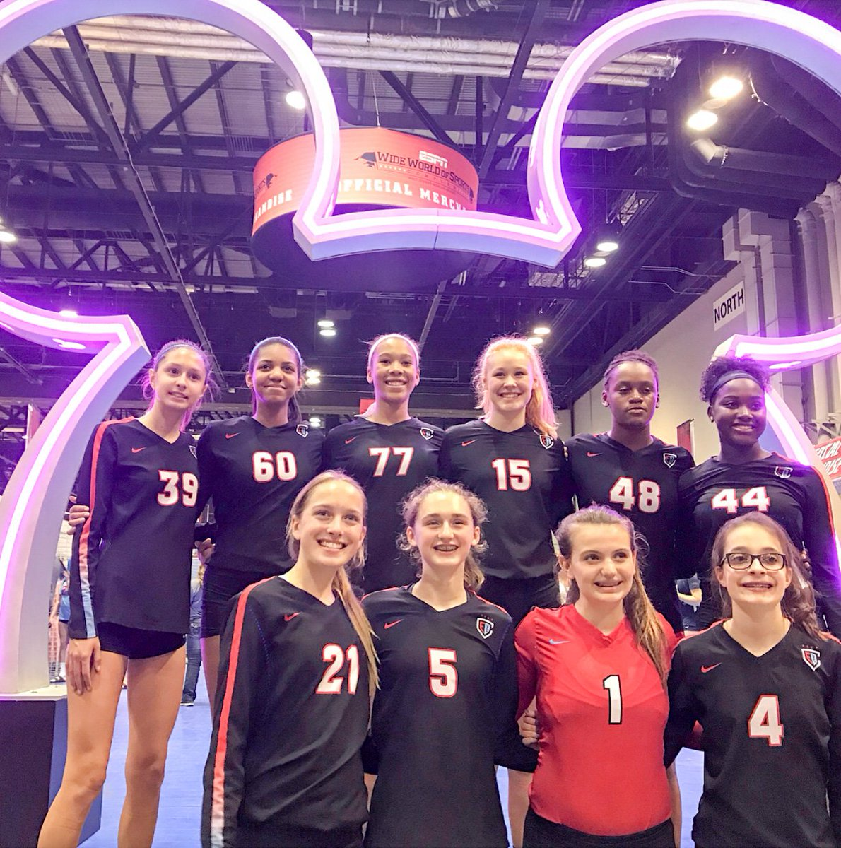 Fxw Chicago On Twitter Congratulations To Fxw Alumnae Lily B Katie J Ariana J Gigi K And Zoe W And To Current Student Ava S Members Of The 14u Chicago Elite Volleyball